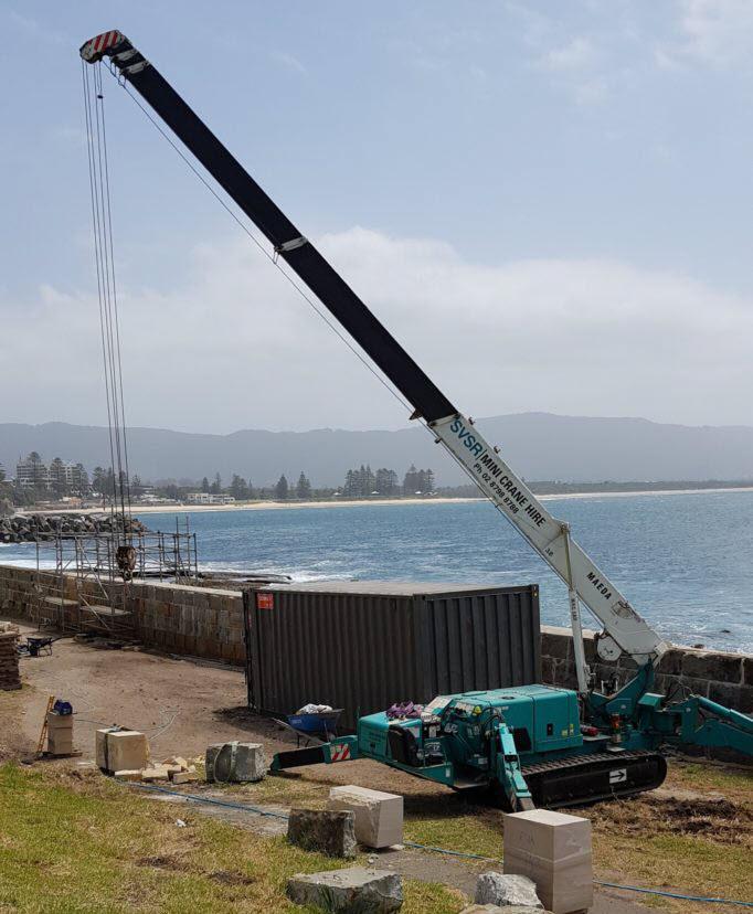 MC405 Wollonggong Sea Wall Restoration