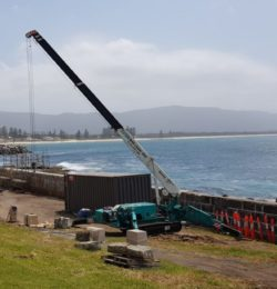 Wollonggong Sea Wall Restoration